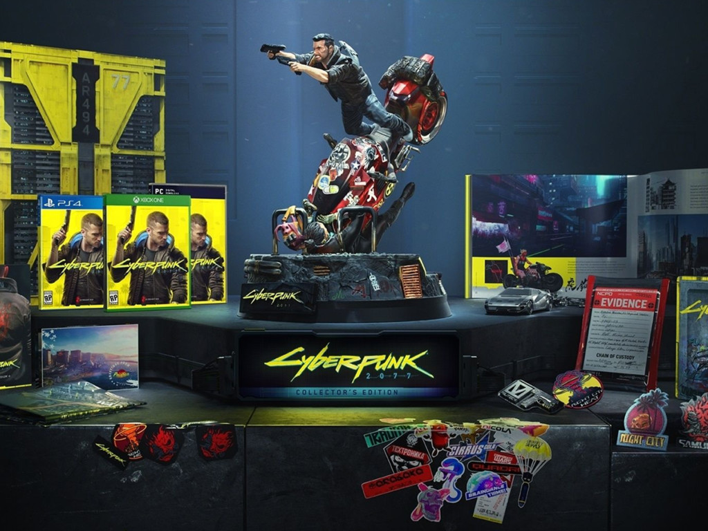 Cyberpunk 2077 Giveaway: Cyberpunk 2077 Collector's Edition