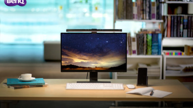 Photo of BenQ Wants to Protect Your Eyes with this Thin Bar on Top of Your Monitor!