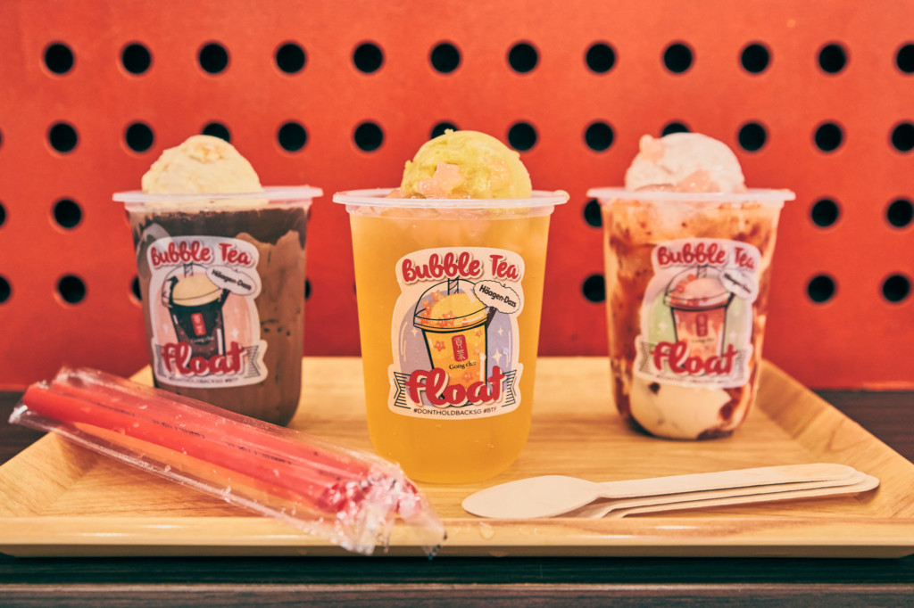 Double-Not-Too-Trouble: Gong Cha and Häagen-Dazs Join Forces for Brand New 'Bubble Tea Float'