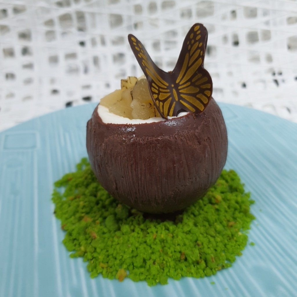 Sentosa Grillfest 2020: Belgium Choclate and Coconut Parfait