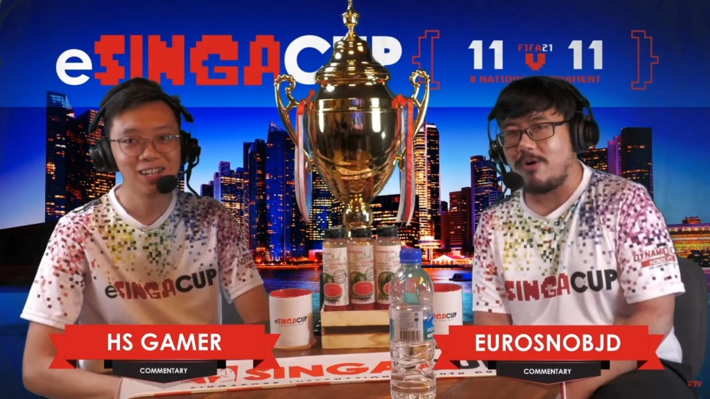 eSingaCup: Commentators