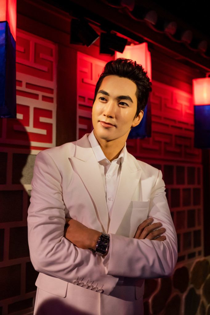 Madame Tussauds Singapore: Song Seung-heon