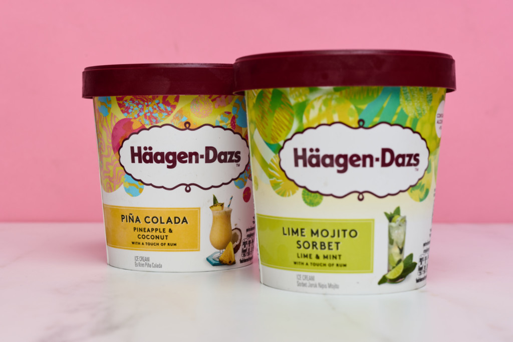 Haagan Daäz Tropical Flavours: Ice-cream Tubs
