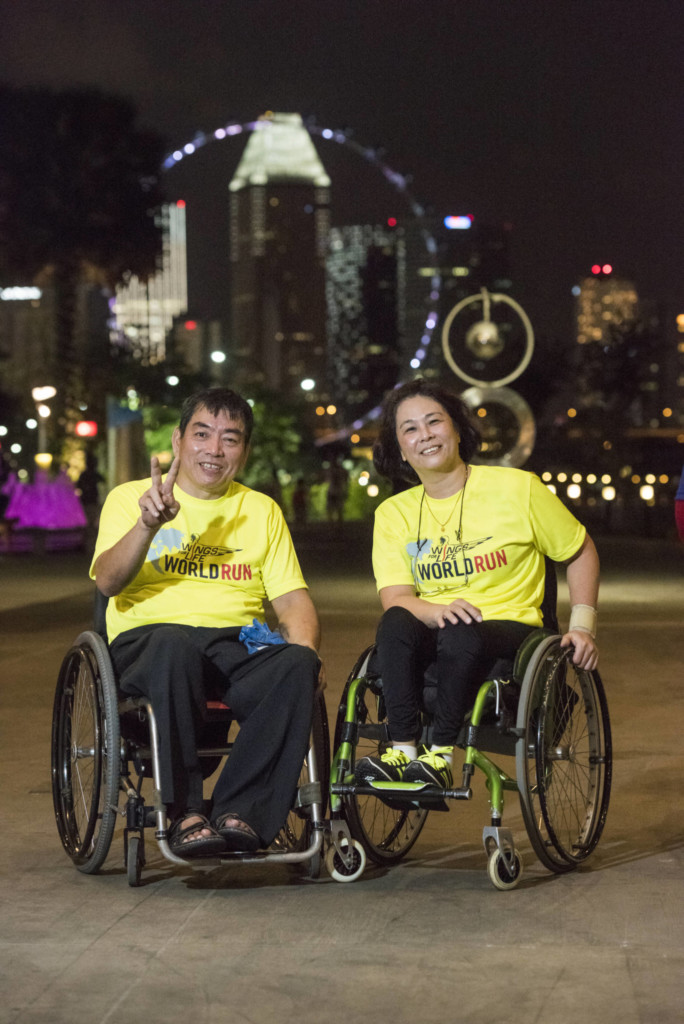 Red Bull Wings for Life World Run: Wheelchair Participants