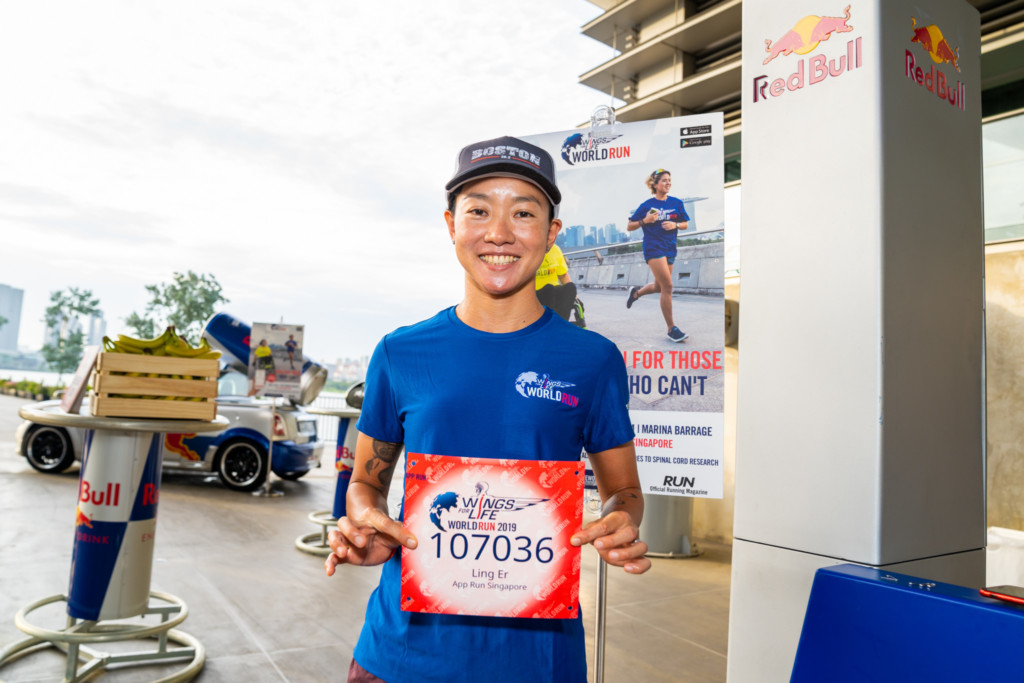 Red Bull Wings for Life World Run: Alvin Teo runner