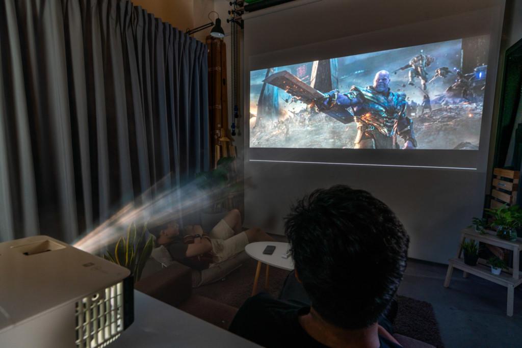 BenQ TK700STi 4K Gaming Projector: Movies